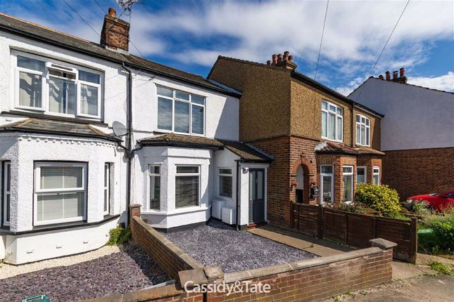 Thumbnail Terraced house to rent in Camp Road, St Albans, Hertfordshire