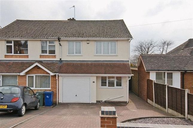 Thumbnail Semi-detached house to rent in Cannock Road, Heath Hayes, Cannock