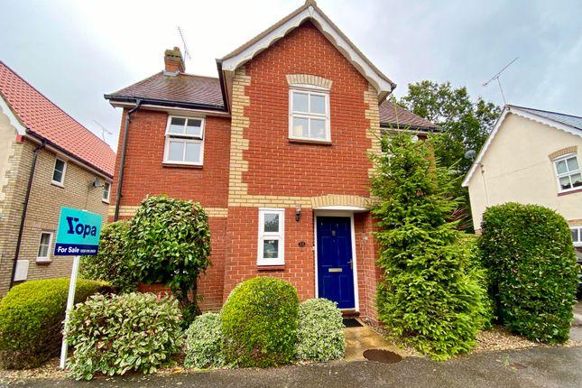 Thumbnail Detached house for sale in Hazel Close, Laindon, Basildon
