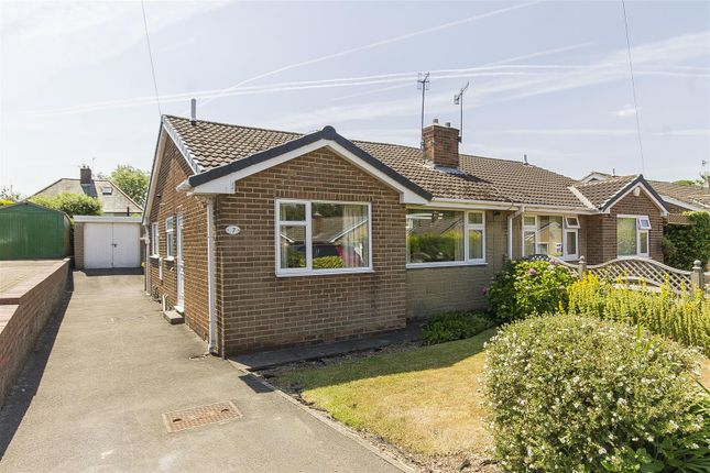 Thumbnail Semi-detached bungalow for sale in Barholme Close, Upper Newbold, Chesterfield