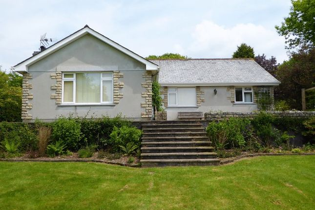 Thumbnail Detached bungalow to rent in Mount, Bodmin