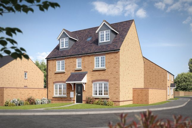 "Thumbnail Town house for sale in ""The Newton"" at King Street Lane, Winnersh, Wokingham"
