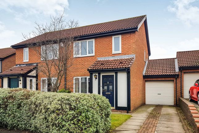 Thumbnail Semi-detached house for sale in Alveston Close, Stakeford, Choppington