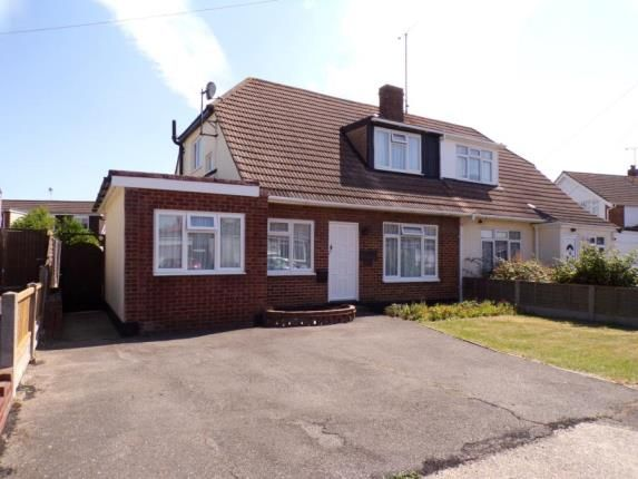 Thumbnail Semi-detached house for sale in Kenmore Close, Canvey Island