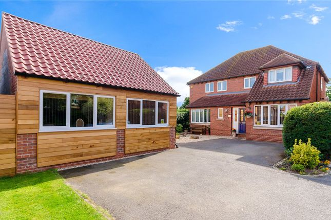 Thumbnail Detached house for sale in Manor House Drive, North Muskham, Newark