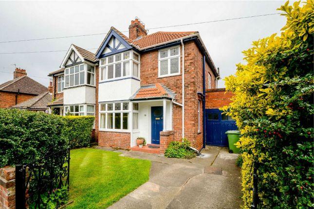 Thumbnail Semi-detached house for sale in Askham Lane, York