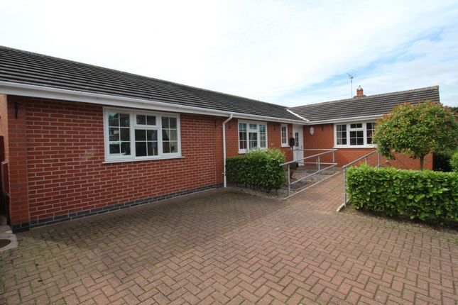 Thumbnail Bungalow for sale in Lindisfarne Drive, Loughborough