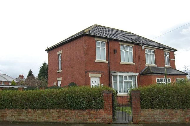 Thumbnail Semi-detached house to rent in Harrison Road, Wallsend