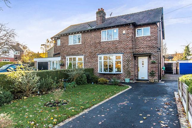 Thumbnail Semi-detached house for sale in Broad Road, Sale