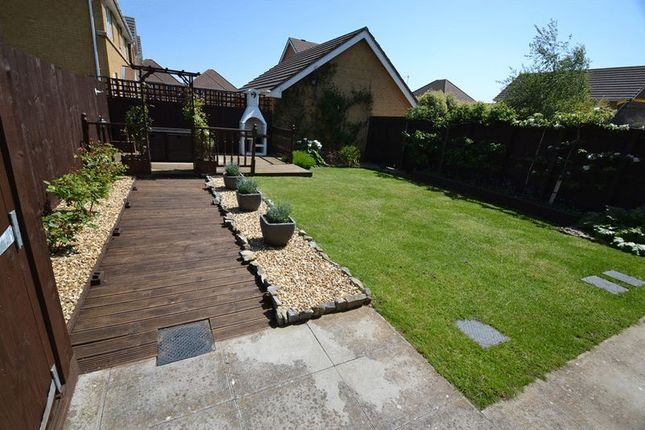 4 bed detached house for sale in Maes Lindys, Rhoose, Barry