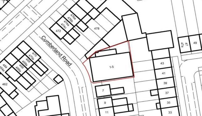 Thumbnail Land for sale in Cumberland Road, London
