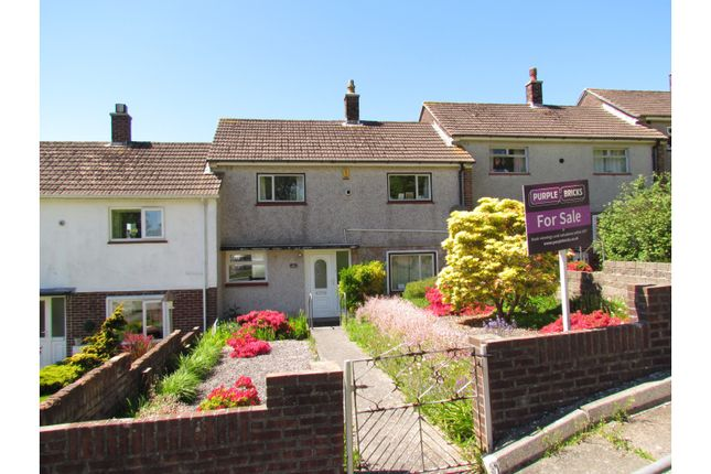 Thumbnail Terraced house for sale in Conrad Road, Plymouth