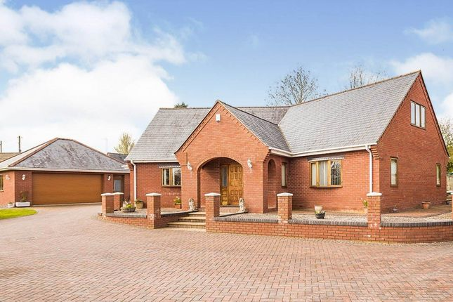 Thumbnail Detached house for sale in Domgay Road, Four Crosses, Llanymynech, Powys
