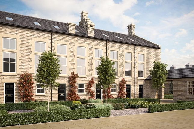 "Thumbnail Town house for sale in ""Three Bedroom Townhouse"" at Wharfedale Avenue, Menston, Ilkley"