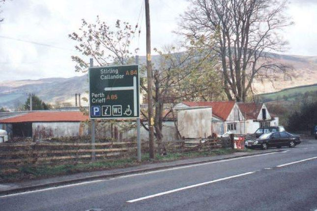 Thumbnail Commercial property for sale in 2.27 Acres Site, A85, Lochearnhead