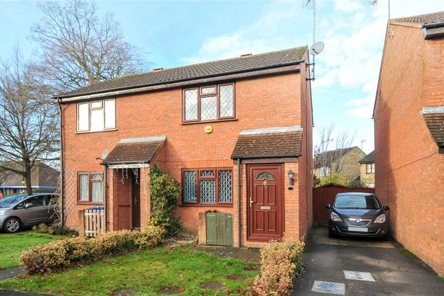 Thumbnail Semi-detached house to rent in Cross Gates Close, Bracknell, Berkshire
