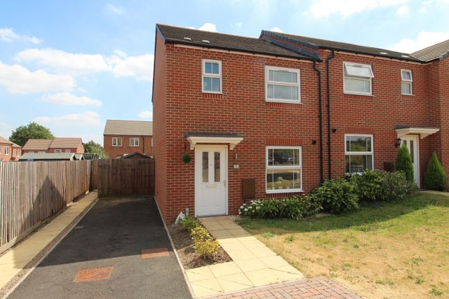 Thumbnail End terrace house for sale in Aston Close, Redditch