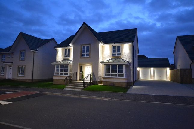 Thumbnail Detached house for sale in Balgownie Drive, Cumbernauld