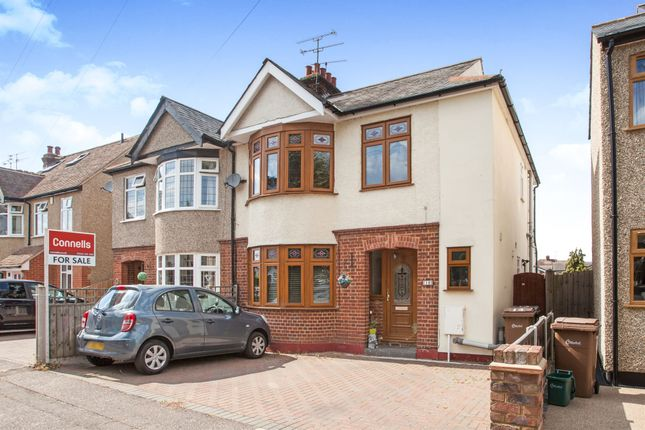 Thumbnail Semi-detached house for sale in St. Johns Avenue, Chelmsford