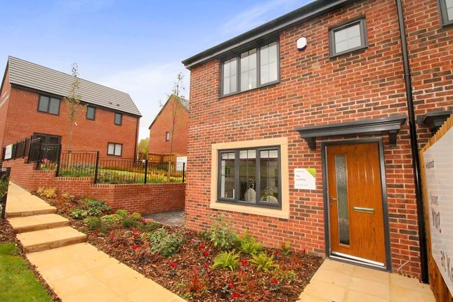 Thumbnail Semi-detached house for sale in The Leathley, Keepmoat Homes, Central Avenue, Liverpool