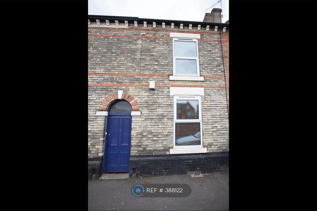 Thumbnail Terraced house to rent in Melbourne Street, Derby