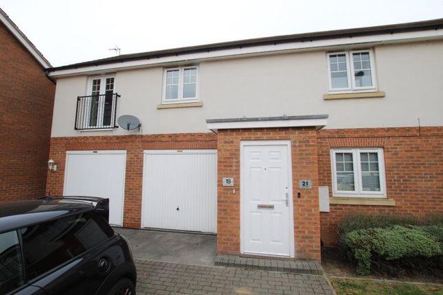 Thumbnail Flat to rent in Hidcote Walk, Brough