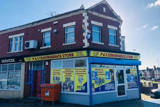 Thumbnail Retail premises for sale in Plymouth Road, Blackpool