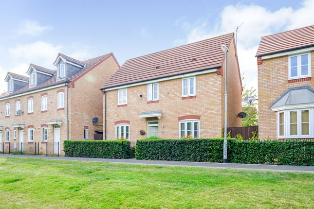 Thumbnail Detached house for sale in Sandringham Walk, Corby