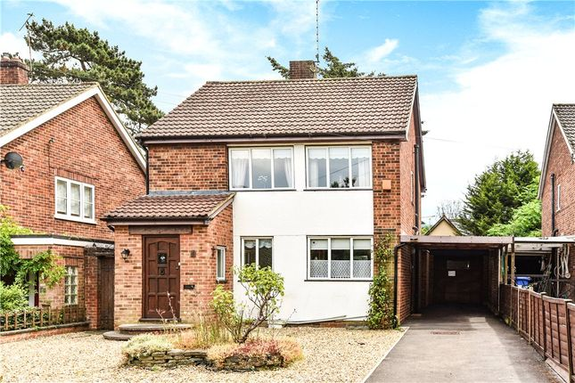 Thumbnail Detached house for sale in Oakfield Road, Blackwater, Surrey