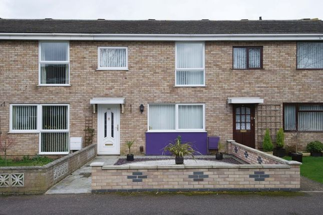 3 bed terraced house for sale in Sandfields Road, Eynesbury, St. Neots