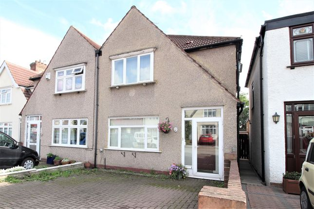 Thumbnail Semi-detached house for sale in Glenview, Abbeywood