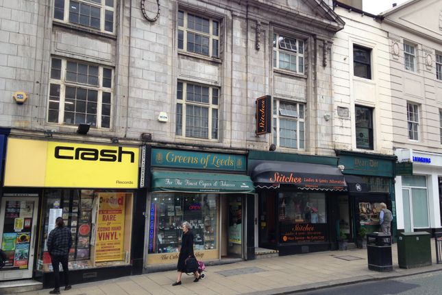 Thumbnail Retail premises for sale in 37 The Headrow, Leeds