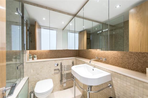 Bathroom of Latymer House, 134 Piccadilly, London W1J