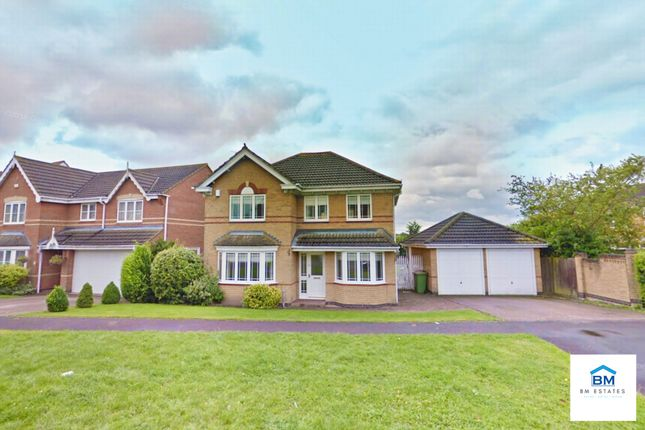 Thumbnail Detached house to rent in Forest House Lane, Leicester Forest East