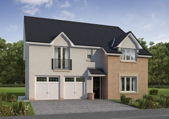 Thumbnail Detached house for sale in One Dalhousie, Bonnyrigg, Midlothian