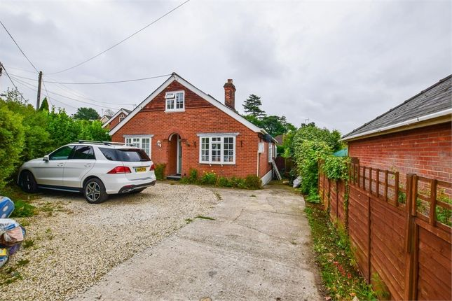 Thumbnail Detached bungalow for sale in Middlefield, Halstead, Essex