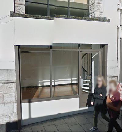 Retail premises to let in Market Street, Torquay