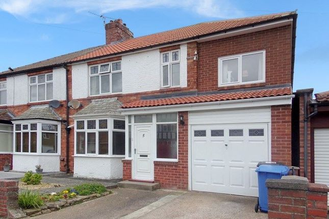 Thumbnail Semi-detached house for sale in Middlegate, Loansdean, Morpeth