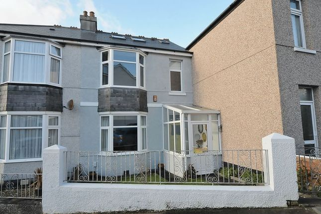 Thumbnail Terraced house for sale in Abbotts Road, Plymouth