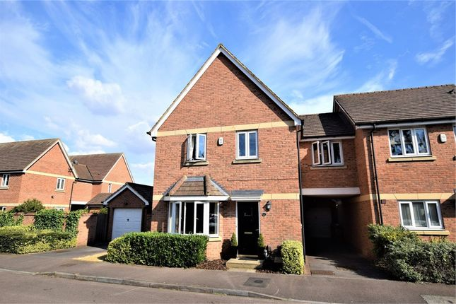 Thumbnail Detached house for sale in Manderville Close, Manfield Grange, Spinney Hill, Northampton