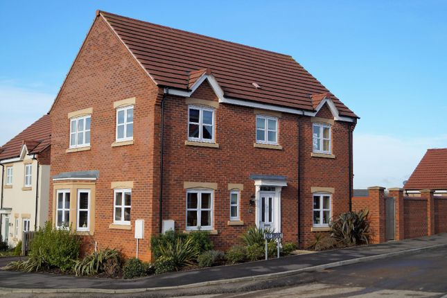 Thumbnail Detached house for sale in Lily Drive, Great Glen, Leicester