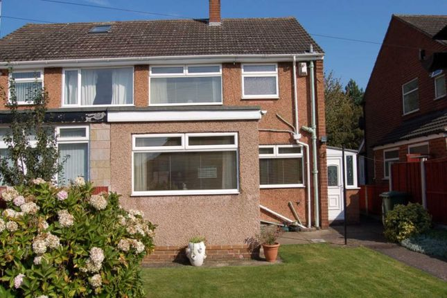 Thumbnail Semi-detached house to rent in Fairway South, Bromborough, Wirral