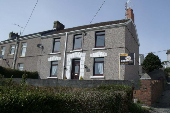 Thumbnail Semi-detached house for sale in Bay View, Pwll, Llanelli, Carmarthenshire