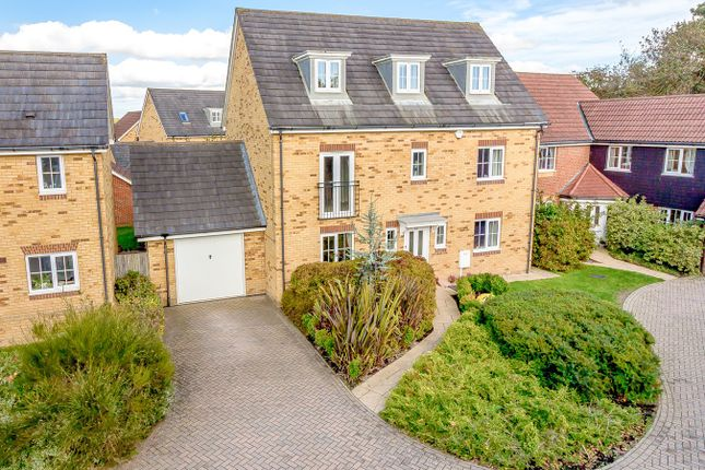 Thumbnail Detached house for sale in Campbell Road, Hawkinge, Folkestone