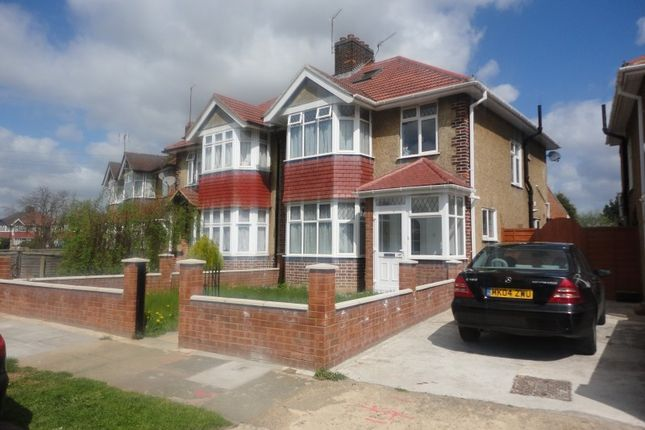 Thumbnail Semi-detached house to rent in Park Road, Hounslow Central