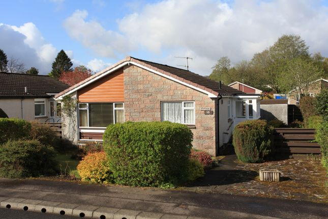 Thumbnail Detached bungalow for sale in Strowan Road, Comrie