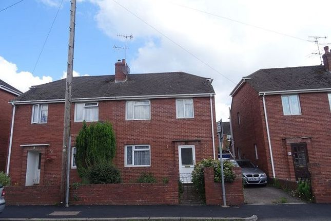 Thumbnail Semi-detached house to rent in Kingsway, Heavitree, Exeter