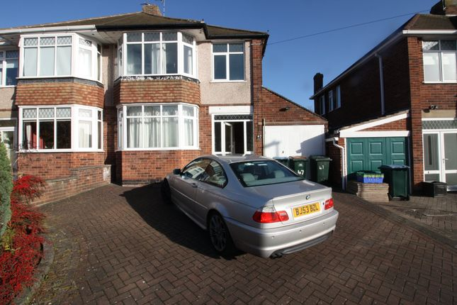 Thumbnail Property to rent in Frobisher Road, Styvechale, Coventry