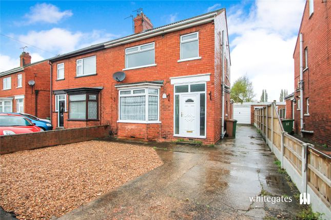 Semi-detached house to rent in Moors Road, Lodge Moor Estate, Scunthorpe, Lincolnshire
