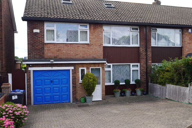 Thumbnail Semi-detached house for sale in Gladeside, Croydon